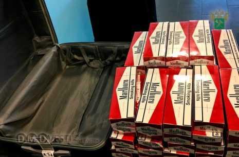Свыше 1800 пачек сигарет изъяли домодедовские таможенники