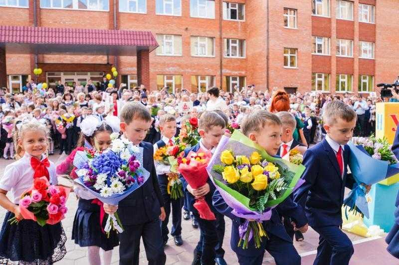 Глава городского округа Домодедово поздравил учащихся с Днём знаний