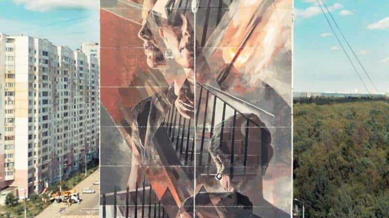 Граффити на многоэтажках Подмосковья признали одними из лучших в мире