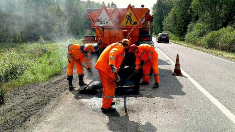 Ямочный ремонт в городском округе Домодедово