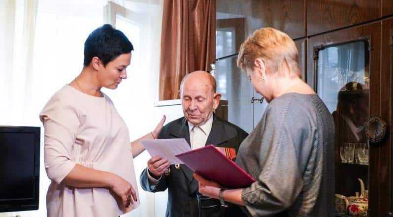 Сегодня своё 95-летие встретил домодедовец, Ветеран ВОВ Иван Иванович Наседкин