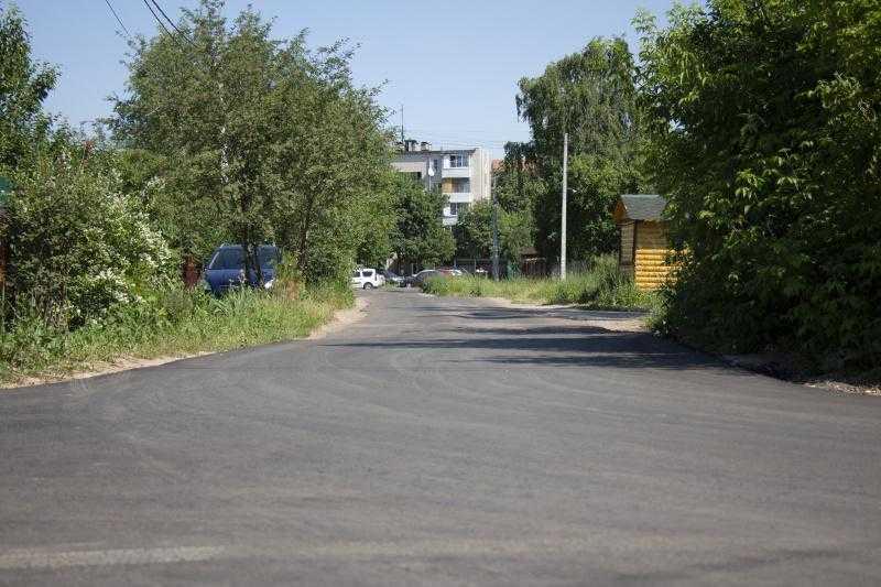В городском округе Домодедово отремонтировали 35 муниципальных дорог