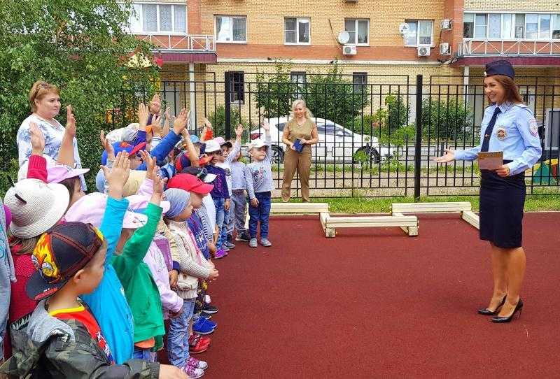 Занятия по правилам дорожного движения в городском округе Домодедово