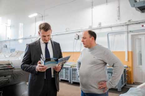 Глава округа Александр Двойных продолжил серию встреч с домодедовскими предприятиями
