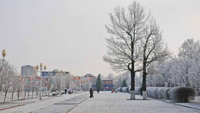 Новогодние поздравления от жителей прозвучат в парках Подмосковья