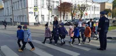 Подмосковные активисты ОНФ провели в школах Балашихи и Ногинска уроки безопасности дорожного движения