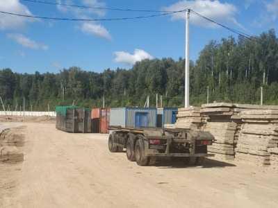 После обращений подмосковных активистов ОНФ владелец участка ликвидирует крупную свалку возле деревни Щелканово