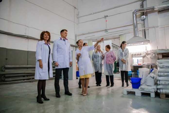 Рабочий визит на кондитерскую фабрику «МАРМИ»