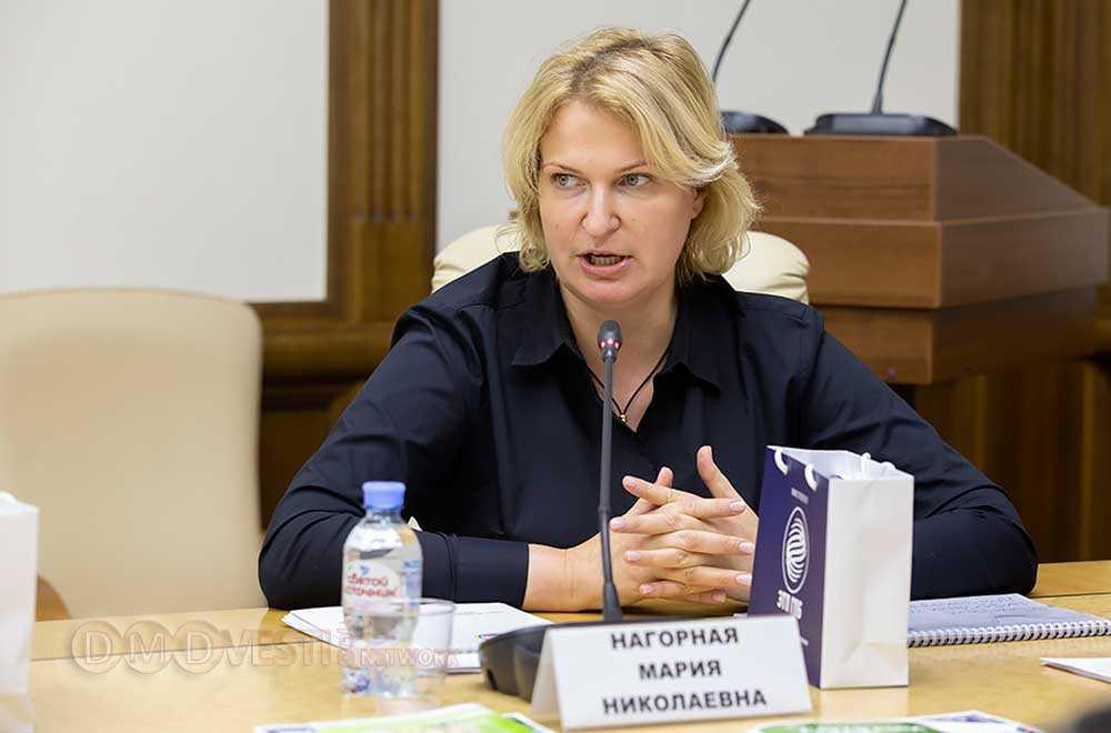 Мария Нагорная - руководитель Главного управления территориальной политики Московской области