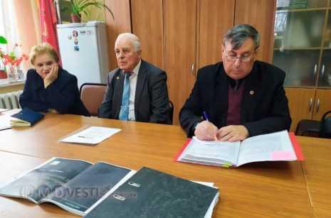 В Совете ветеранов г.о.Домодедово прошло совещание по вопросу проведения проектно-изыскательных работ