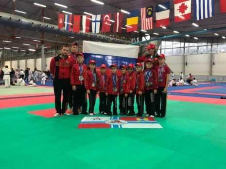 Домодедовские рукопашники завоевали более 20 медалей на турнире в Италии