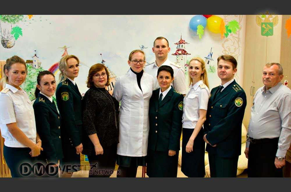 Домодедовские таможенники посетили «Фрязинский специализированный дом ребенка» новости домодедово