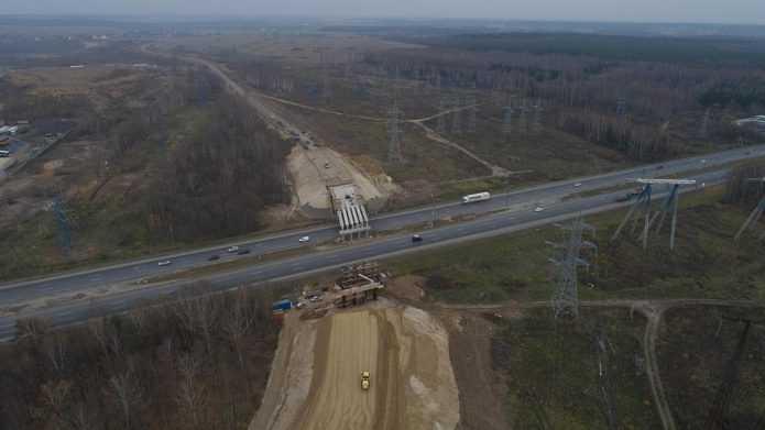 Строительство дороги к деревне Киселиха