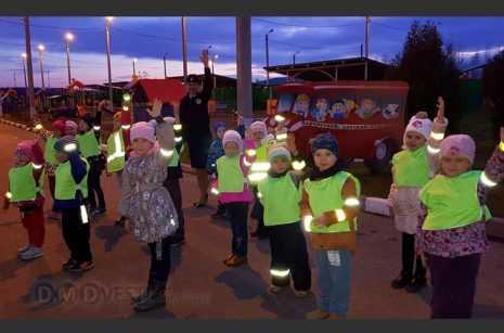 В Домодедово прошла акция «Засветись пешеход, стань заметнее на дороге!» новости домодедово